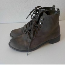 Cliffs White Mountain Ankle Boot 7.5M Brown Zip Up Laces  - £11.38 GBP