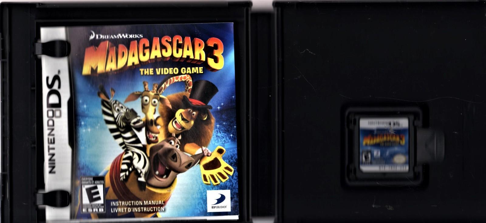 Nintento DS - Madagascar 3: The Video Game
