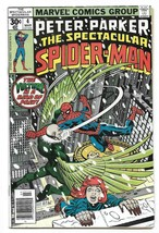 Bronze Age 1977 The Spectacular Spiderman Comic #4 Marvel Comics The Vul... - $4.95