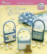 Tiny Treats Gift Totes Candy TNS Plastic Canvas PATTERN/INSTRUCTIONS/NEW  - $0.90