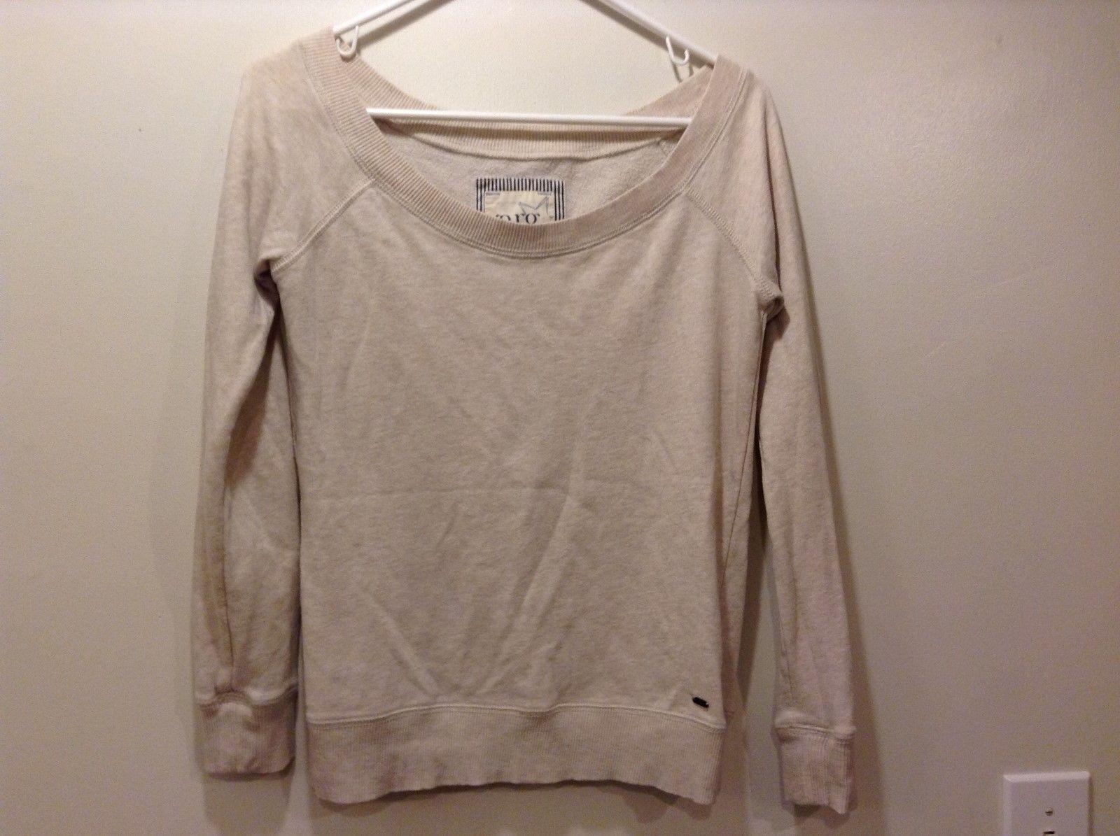 Garage 75 Ladies Tan Sweater Sz Medium