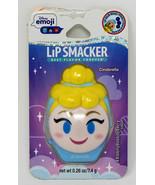 2x TWO new Lip Smacker Disney Emoji Lip Balm Cinderella 0.26 Ounce - $10.08