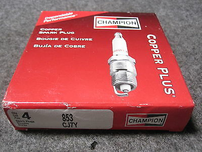 CJ7Y CHAMPION SPARK PLUGS PACK OF 4