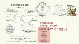 PARFOREX X1V SALUTES 100th ANNIVERSARY POSTAL UNION , LOCAL POST STAMP ,... - $7.83