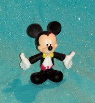 "McDonald's Disney's Mickey Mouse In A Black Tuxedo 3"" In Tall PVC Figure - $7.83"