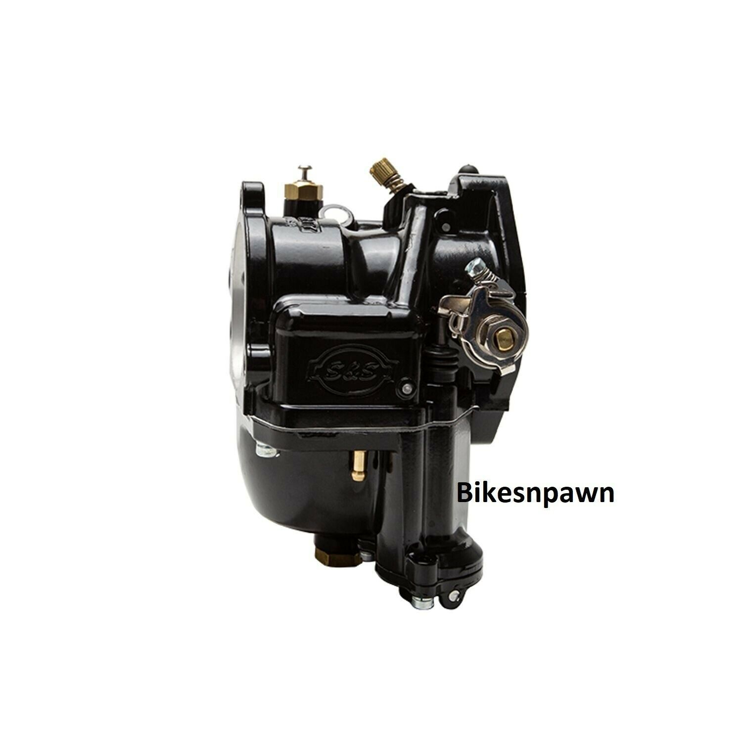 New S&S Cycle Super G Black Shorty Carburetor Big Twin or Sportster 55-06
