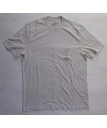 St. John's Bay Legacy T-Shirt No Pocket Light Heather Gray Medium Classi... - $7.38