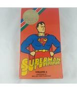 1989 UAV Cartoon Classics Collection Superman Volume 4 VHS Vintage RARE  - $10.36