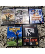 Lot of 5 PlayStation 2 Games - All Complete - Tested - Will Separate - $22.80