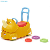 Little Tikes Scoot-Around Animal Riding Toy, Rhino - $57.76