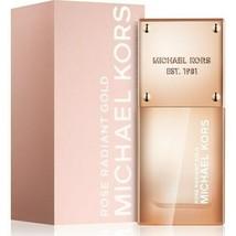 Michael Kors ROSE RADIANT GOLD Eau De Parfum Perfume 30ml Womans SeXy Ne... - $42.50