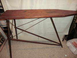 Antique Wood Ironing Board - $93.15
