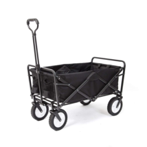 Mac Sports Collapsible Folding Outdoor Utility Wagon, Black - $95.48