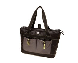 NWT Geckobrands 2 compartment Stylist Beach Style Tote Cooler Bag hold 4... - €40,28 EUR