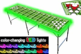 8-Foot Professional Beer Pong Table W/ OPTIONAL Cup Holes, LED Lights, - $106.31+