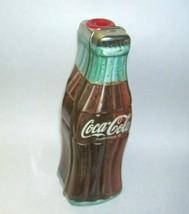Coca Cola Bottle Tin Box Pencil Sharpener 1996 - $16.82