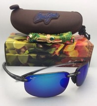 Polarisiert Maui Jim Sonnenbrille Ho' Okipa Mj 407-11 Rauch Grau W/ Blue... - $189.78