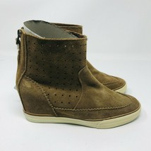American Eagle Outfitters Women's Size 7 Suede Wedge Ankle Boot Sneakers - $49.50