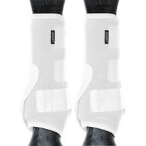 Weaver Horse Front Boots Synergy Sport Athletics White U-1-10 - $71.95