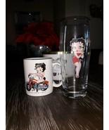 Betty Boop Mug And Glass - $3.56
