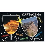 Colombia South America Postcard Cartagena Cheers - $2.84