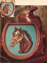 Cross Stitch Jan Sorrell Portrait Bay Colt Equestrian Horse Cattle Drive... - $9.99