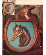 Cross Stitch Jan Sorrell Portrait Bay Colt Equestrian Horse Cattle Drive Pattern - $9.99