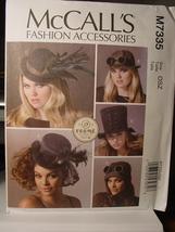 Pattern 7335 Hats one Size - $7.99