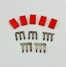 5 Stück - Buchse 3 Pin Lüfter Stromanschluss - rot inklusive Pins - $4.27