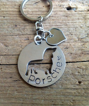 NEW Dachshund Doxie Custom Keychain Dog Lover.  Personalized.  Your dogs name. D - $18.00