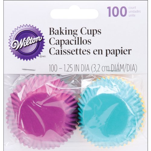 Primary image for Wilton Baking Cups, Jewel Assorted, 100 ct