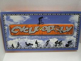 Late for the Sky Cycle-Opoly board game for the cycling enthusiast! - $39.55