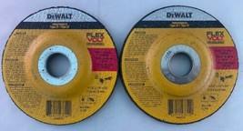 """Dewalt DWAFV84514 FLEXVOLT 4-1/2"""" x 1/4"""" x 7/8"""" T27 Grinding Wheel 2pcs. - $10.89"""