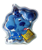 Blues Clues Wilton Cake Pan Mold  2105-3060 Birthday Party Hat Dog 1999 ... - ₨1,313.76 INR