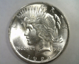1922 PEACE SILVER DOLLAR CHOICE UNCIRCULATED / GEM  CH. UNC. / GEM NICE ... - $48.00
