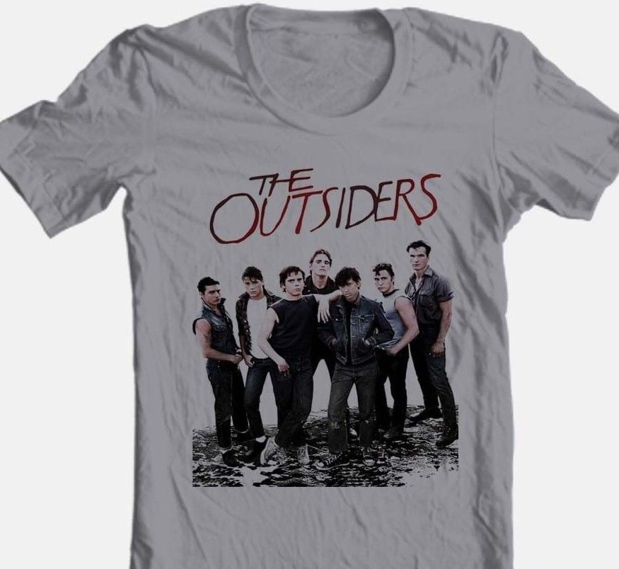 The outsiders 1980 s retro style movie pony boy darry for sale online graphic tee