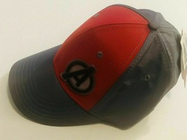 New The Avengers Metallic Stripe Flex Fit Hat. Brand New. Gray And Red - $27.71