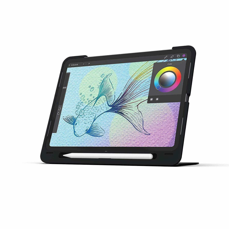 ZAGG Slimbook Go - Case with Detachable Bluetooth Keyboard - Black