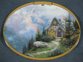 Scenes Of Serenity Rainbow's End Cottage Thomas Kinkade Collector Plate ... - $21.95