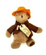 """Vintage 1975 Paddington Bear Darkest Peru to London 9"""" Eden Toys Rare Or... - $37.39"""