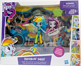My Little Pony Rainbow Dash Rockin' Music Class Equestria mini doll Playset - $18.88
