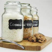 Wedding Home Kitchen Jars Blackboard Stickers Chalkboard Lables Free Shi... - £3.87 GBP