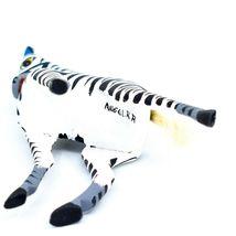 Handmade Alebrije Oaxacan Copal Wood Carving Folk Art Zebra Horse Figure image 5