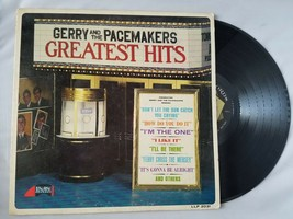Gerry And The Pacemakers Greatest Hits Vinyl Record UK Vintage LP - $17.55