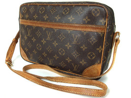 Auth LOUIS VUITTON Trocadero 27 Monogram Canvas Shoulder Bag Purse - $249.00