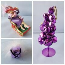 The Danbury Mint 2007 Ruby Red Hat Society Sleigh Christmas Tree Ornamen... - $20.33