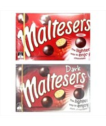 1 box x 90g Mars Candy Maltesers Dark / Milk Chocolate Ball Snack FREE S... - $10.97