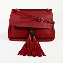 "Gucci Leather Medium ""Daily"" Bamboo Tassel Shoulder Bag - $1,105.00"