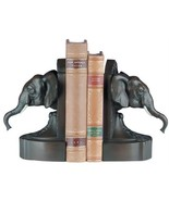 Bookends Bookend TRADITIONAL Antique Elephant Head Resin - $209.00