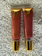 Estee Lauder High Gloss Ultra Brilliant - Rose & Berry - Set Of Two - $13.95